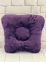 Подушка на кушетку - слива махра, фото 1