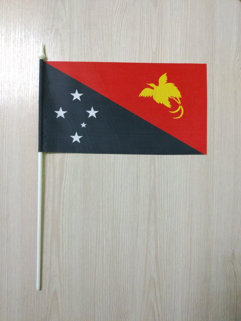 "Флажок ""Папуа Новая Гвинея""   Флажки Океании  "