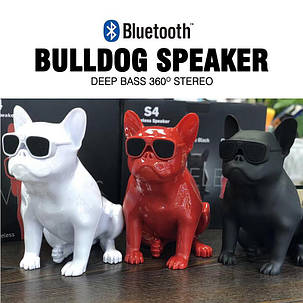 Портативная колонка S5 Bulldog Wireless Bluetooth (USB FM MP3 AUX), фото 2