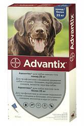 Bayer Advantix Байєр Адвантікс для собак від бліх та кліщів більше 25 кг