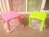 Стол пластиковый детский прямоугольный, фото 2
