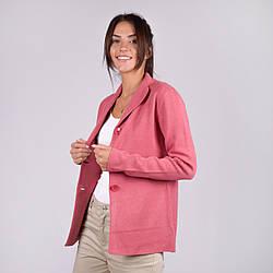 Трикотажный женский короткий пиджак  в 5  цветах в размерах S/M и M/L