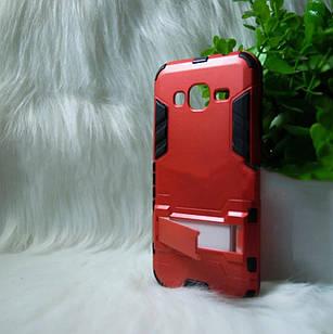 Противоударный чехол Samsung J320 / J3 2016 красный (red)