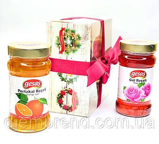 Набор из двух джемов: Апельсин и Роза, ТМ Gesas