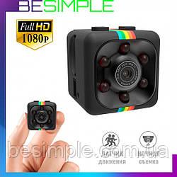 Мини камера SQ11 Full HD 1080p с датчиком движения