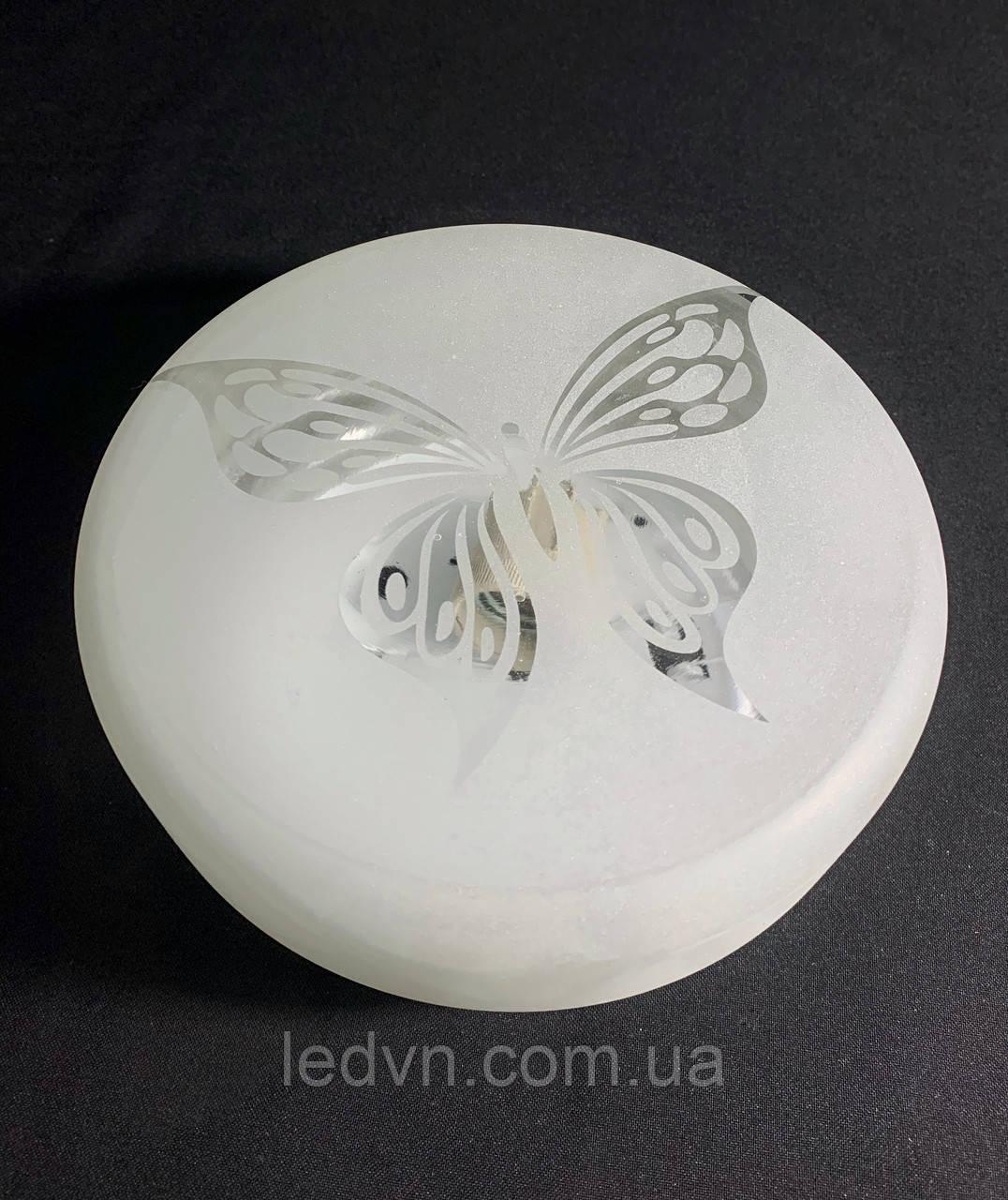 Потолочный светильник Е27 матовый бабочка