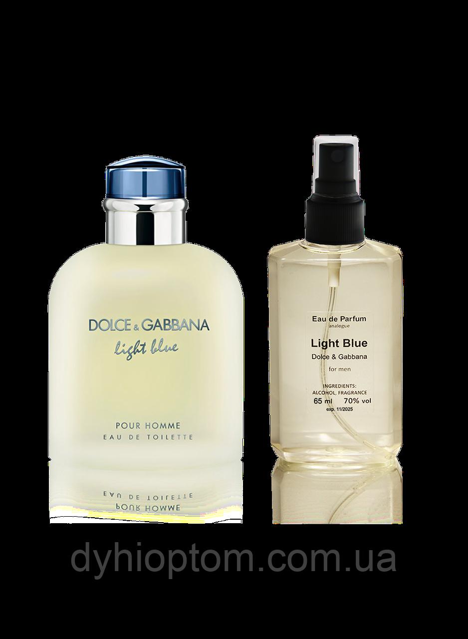 Пафюмированная вода для мужчин Dolce&Gabbana Light Blue Pour Homme 65ml