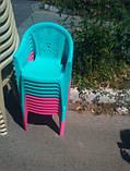 Кресло детское №2, стул пластиковый детский, фото 2