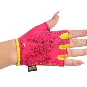 Жіночі рукавички для фітнесу Maraton 1622, розмір M
