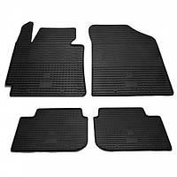 Комплект резиновых ковриков в салон автомобиля Hyundai Elantra 2011- (1009034)