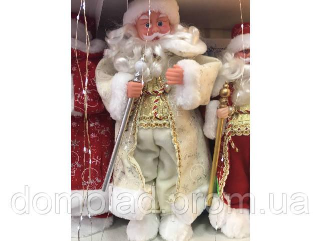 Дед Мороз с Музыкой Новогодняя Игрушка В Ассортименте 40 см