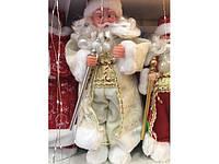 Дед Мороз с Музыкой Новогодняя Игрушка В Ассортименте 40 см, фото 1