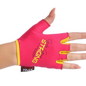 Жіночі рукавички для фітнесу Maraton 1624, розмір M