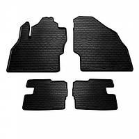 Комплект резиновых ковриков в салон автомобиля Opel Corsa E 2014- (1015114)