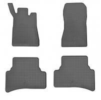 Комплект резиновых ковриков в салон автомобиля Mercedes Benz W 203 (1012134)