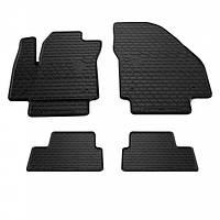 Комплект резиновых ковриков в салон автомобиля Opel Meriva B 2010- (1015184)