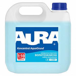 Aura Aqua Grund Вологозахисна грунтовка глибокого проникнення для внутрішніх і зовнішніх робіт