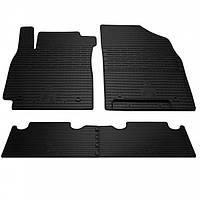 Комплект резиновых ковриков в салон автомобиля Geely Emgrand X7 (1025064)