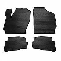 Комплект резиновых ковриков в салон автомобиля Seat Ibiza 2003- (1020154)