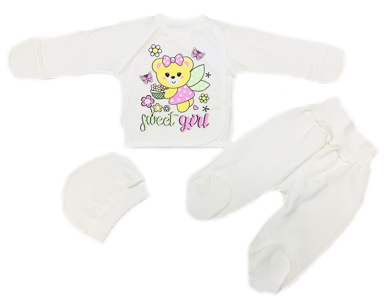 Теплый костюм набор для новорожденных на выписку, 56см