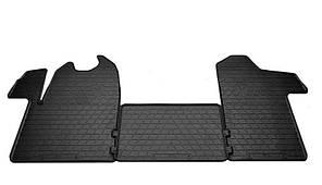 Комплект резиновых ковриков в салон автомобиля Renault Master III 2011 (1018143)