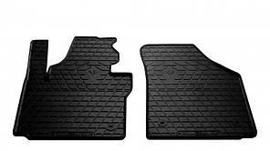 Передние автомобильные резиновые коврики Volkswagen Caddy 2003 (1024282)