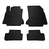 Комплект резиновых ковриков в салон автомобиля Mercedes-Benz X156 GLA 2014- (1012234)