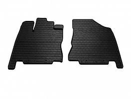 Передние автомобильные резиновые коврики Infiniti QX60 2013- (1033052)