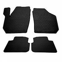 Комплект резиновых ковриков в салон автомобиля Skoda Roomster 2006- (1020214)