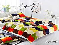 Мягкий плед покрывало велсофт (микрофибра) полуторный Палитра 160х220 на диван, кровать