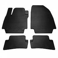 Комплект резиновых ковриков в салон автомобиля Renault Clio III | Clio IV (1018084)
