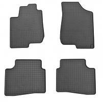 Комплект резиновых ковриков в салон автомобиля Hyundai Elantra (1009044)
