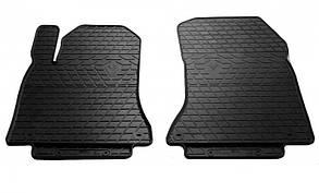 Передние автомобильные резиновые коврики Infiniti Q30 (QX30) 2015- (1033032)