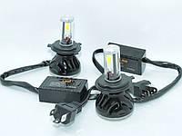 Комплект автомобильных светодиодных LED ламп для фар G5 H4 8000Lm 6500K Головной свет лед
