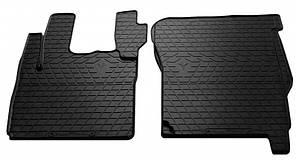 Комплект резиновых ковриков в салон автомобиля DAF CF 2000-2013 (1039022)