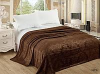 Мягкий плед покрывало велсофт (тиснение) полуторный 160х220, на диван, кровать