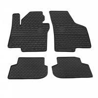 Комплект резиновых ковриков в салон автомобиля VW Jetta (1024144)