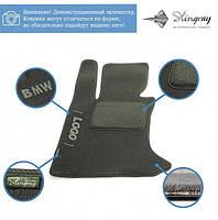 Комплект ворсових килимів Stingray Fortuna Black/Grey у салон автомобіля VOLKSWAGEN / SHARAN / 2000- /