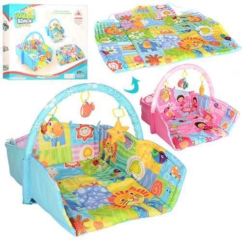 """Развивающий коврик для младенца """"Happy Space"""" JL619-1AВС"""