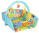 """Развивающий коврик для младенца """"Happy Space"""" JL619-1AВС, фото 5"""