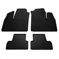 Комплект резиновых ковриков в салон автомобиля Fiat Doblo (223) 2000-2010 (1006174)