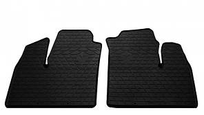 Передние автомобильные резиновые коврики Fiat Doblo (223) 2000-2010 (1006172)