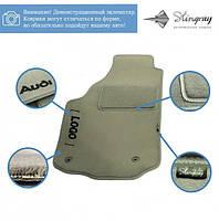 Комплект ворсовых ковриков Stingray Fortuna Grey в салон автомобиля HYUNDAI / ELANTRA NEW  АКП SD / 2006 (42309045)