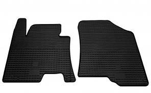 Передние автомобильные резиновые коврики Kia Ceed 2012- (1009052)