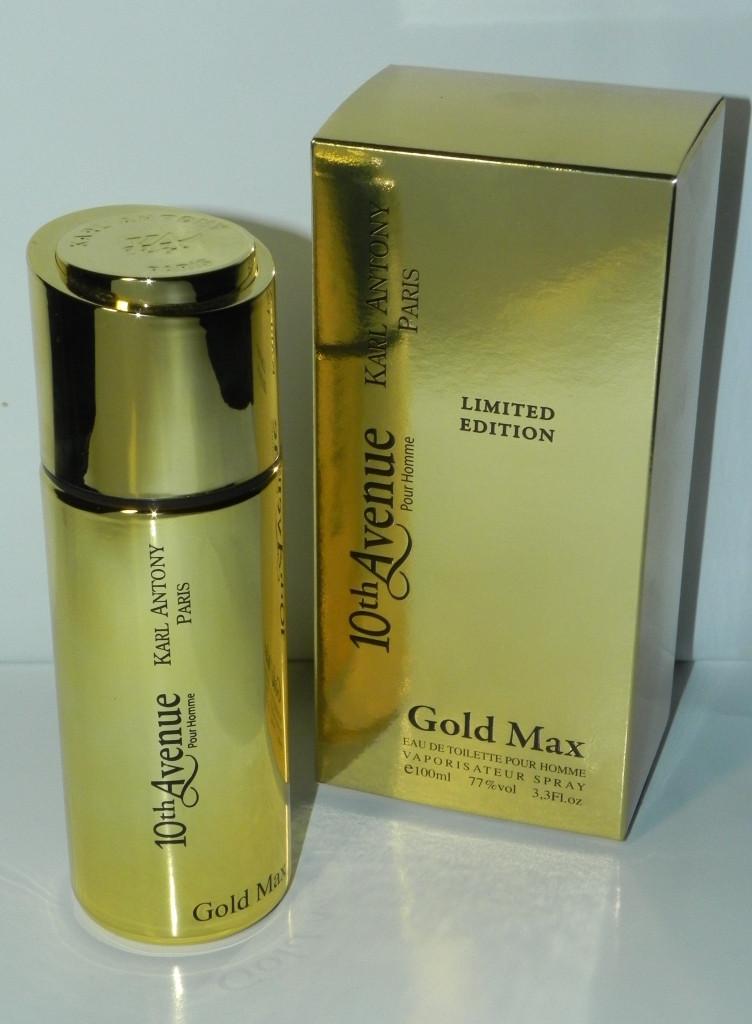 Мужская туалетная вода 10-th avenue gold max 100 ml