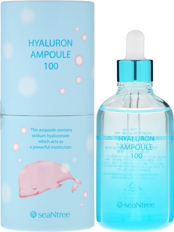 Ампульная сыворотка для лица с гиалуроновой кислотой SeaNtree Art Hyaluron Ampoule 100 мл