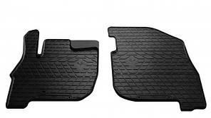 Передние автомобильные резиновые коврики Mitsubishi Galant IX 2003- (1013112)