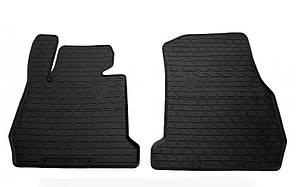 Передние автомобильные резиновые коврики BMW 3 (F30/F31/F34) 2011-2019 (design 2016) (1027242)