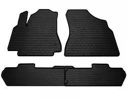 Комплект резиновых ковриков в салон автомобиля Peugeot Partner 2008- (1016174)