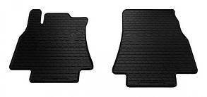 Передние автомобильные резиновые коврики Mercedes W169 А 2004- (1012172)